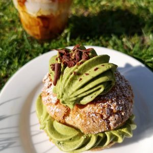 Cream Puff – Matcha