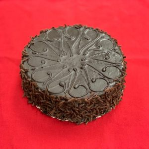 Truffle Chocolate Mousse Cake