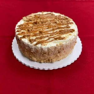 Caramel Apple Crumble Cake