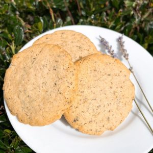 .Earl grey & Lavender cookie
