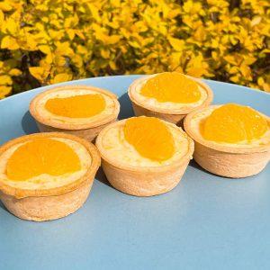 .Mandarin Mousse Tart