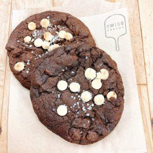 Salted Triple-Chocolate Cookie