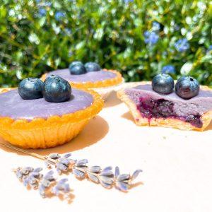.Blueberry Tart